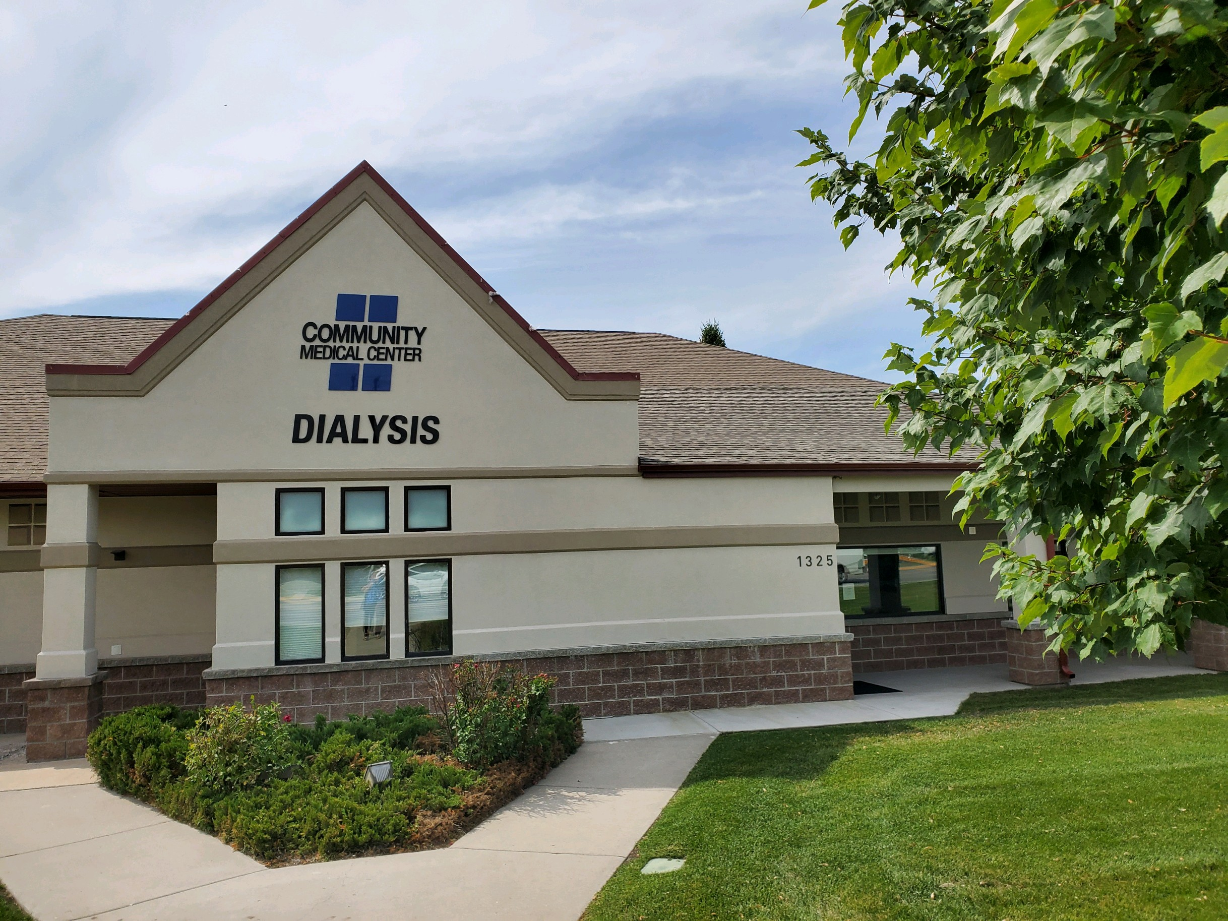 Community Medical Center Dialysis Front 2